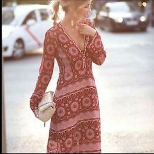 ZARA new midi dress with embellished lace